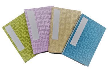 4色の朱印帳