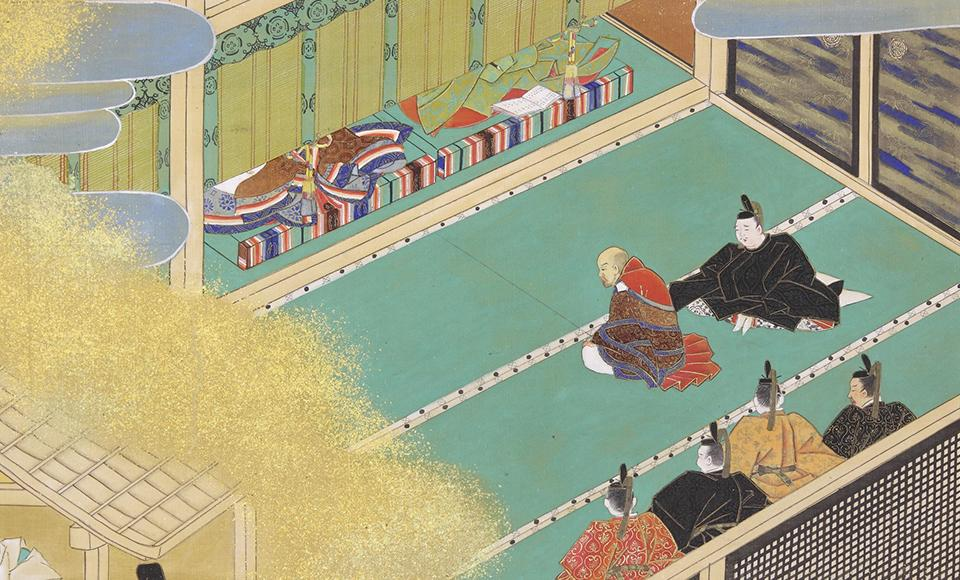 上皇と女院への融通念佛を勧める